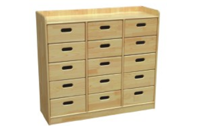 wood kids mini drawers for sale