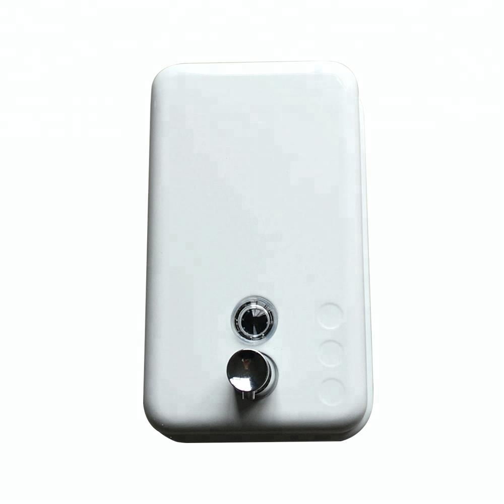 Stainless Steel White painting Touch hand Soap Dispenser For Sale