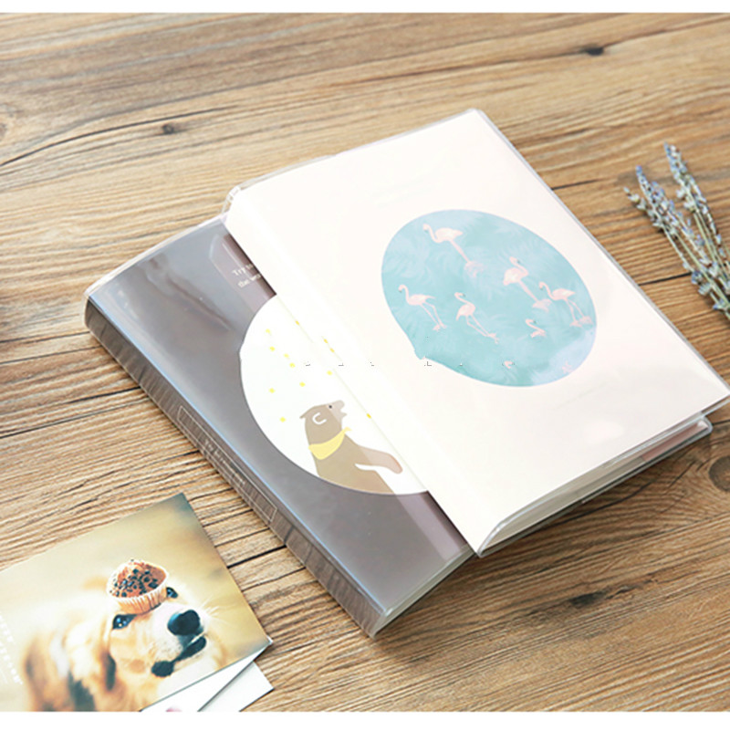 BSCI Factory Supply top grade Plastic Clear Transparent Photo Album for sale
