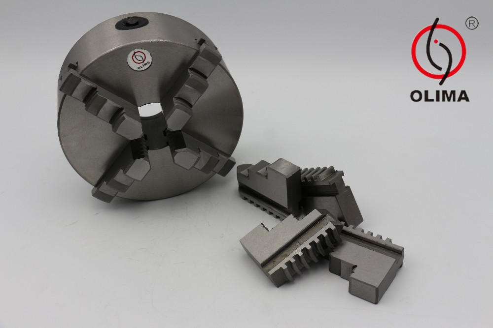 high quality self-centering 4 jaw wood lathe chuck for sale