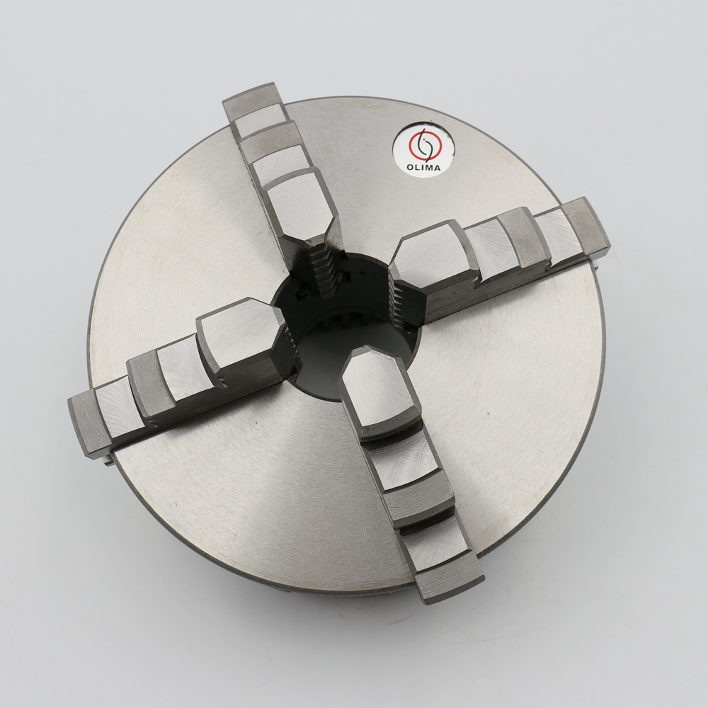 High quality 100mm 4 jaw self centering lathe chuck for sale