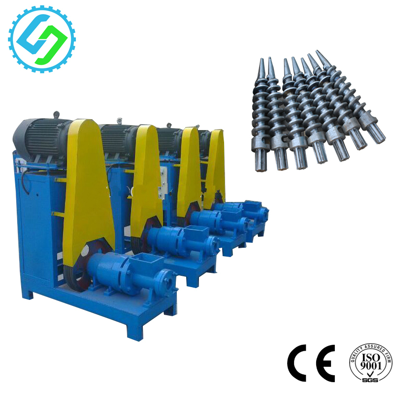 exported to UZ Rice Husk Straw Charcoal Briquette Making Machine Price for sale
