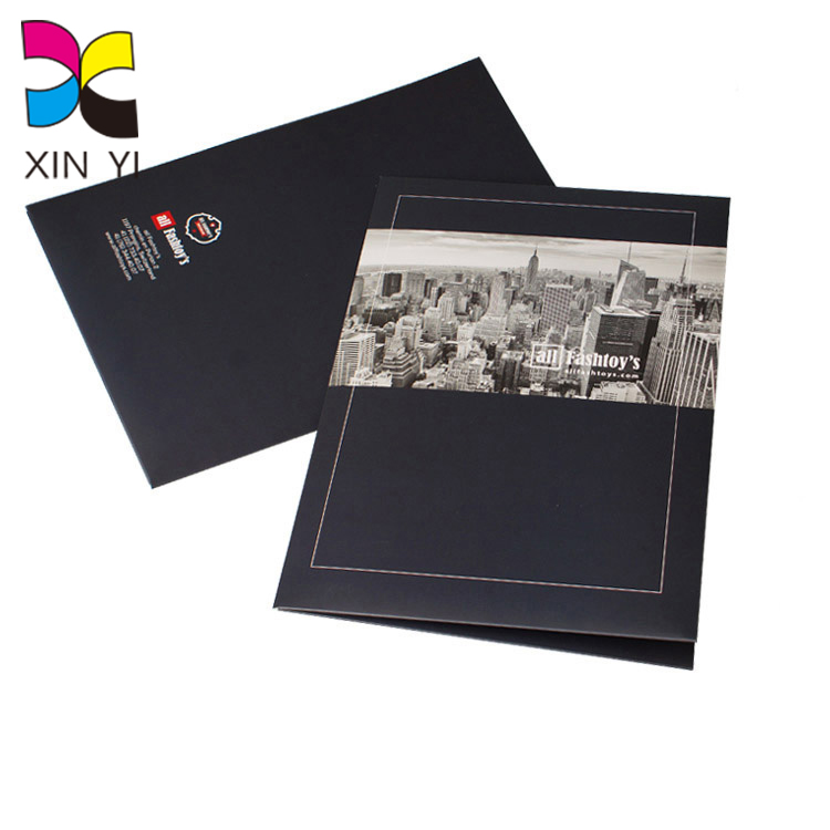 High Quality Print on Demand A4 Paper Office Conference Folder for sale