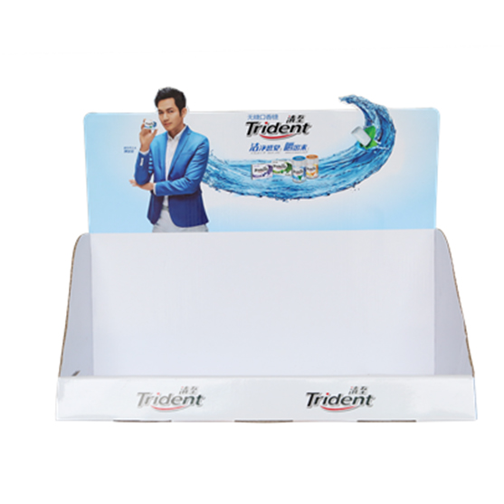 Corrugated Counter Display For GUM
