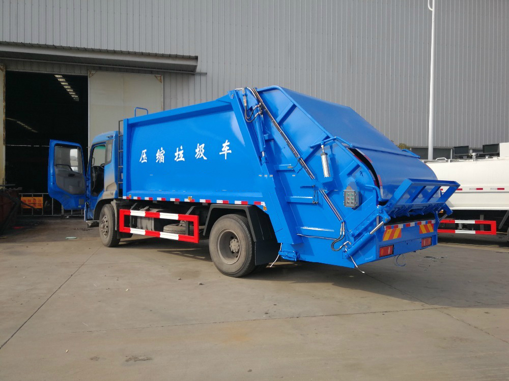 Cheap Dongfeng 3ton Compactor garbage truck for sale 1