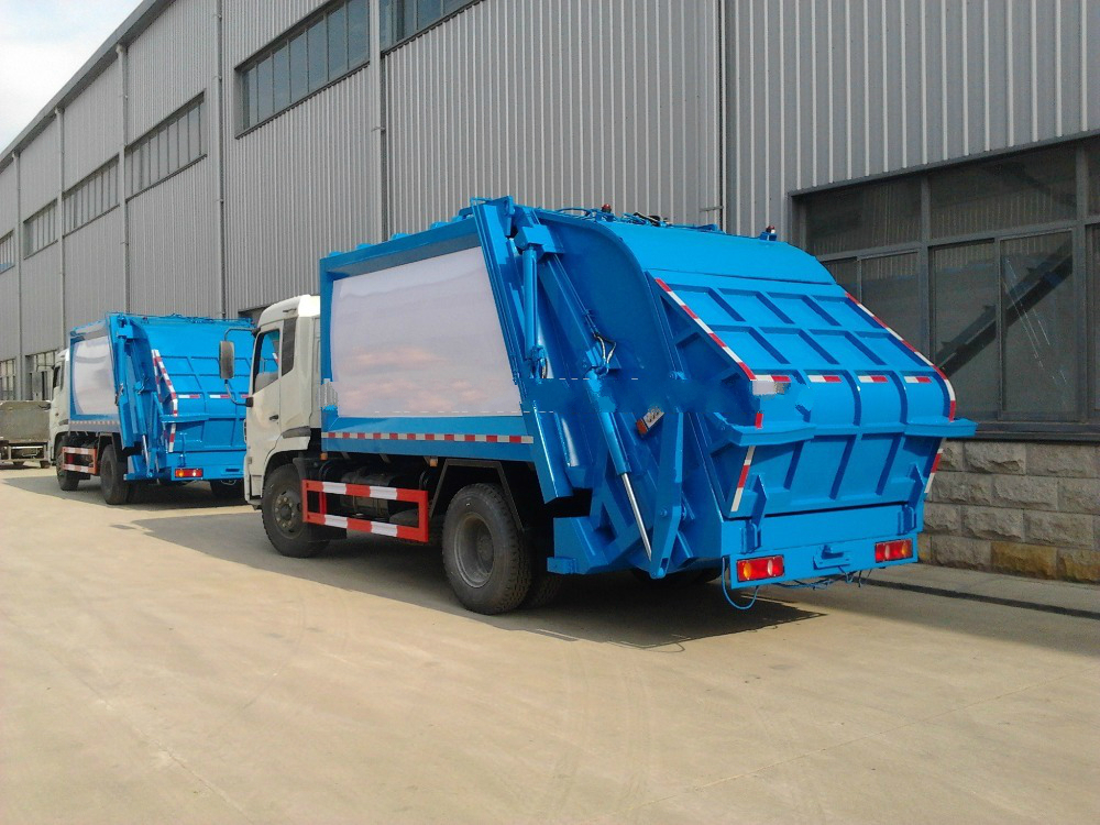 Low price Garbage compactor truck 8ton , Waste compactor truck 8000L for sale
