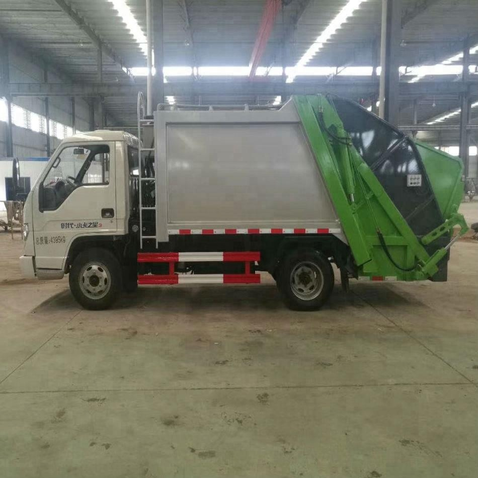 Dongfeng 4x2 mini garbage truck for sale 1