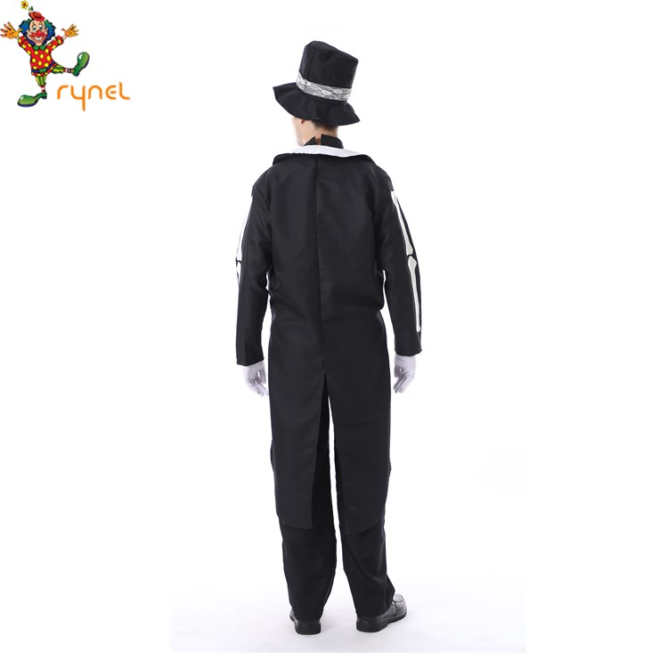 Gentleman Mexican Tuxedo Halloween Day Of The Dead Costume For Adult Men for sale