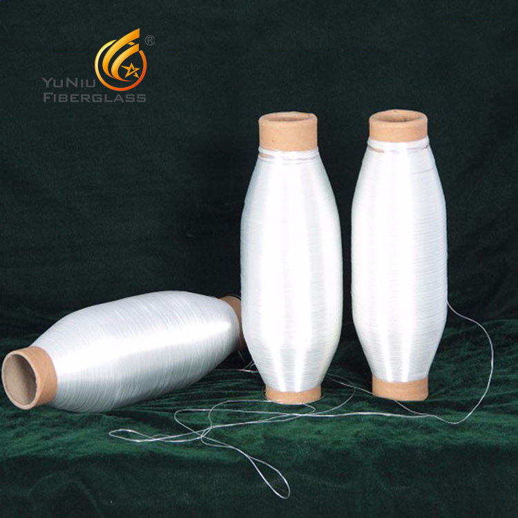 high silica fiber glass yarn SiO2 96% fire proof fiber glass yarn for sale