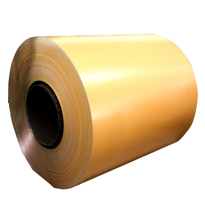 HDPE yellow painted aluminum coil for sale