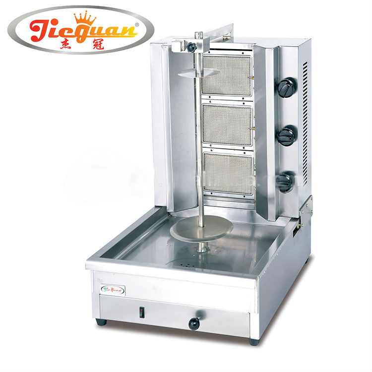 High quality GB-800 Gas Chicken Grill Shawarma Machine for Sale