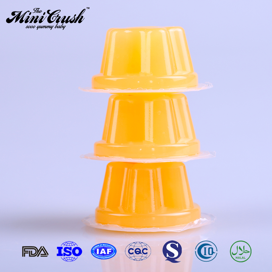 New Flavor Fruit Jelly, 35g Fruit Flavor Jelly Cup