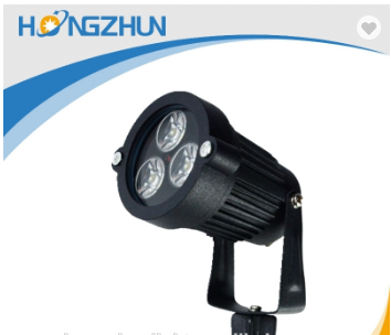 Waterproof 3w High power RGB hot sale led garden lamp CE approved sale