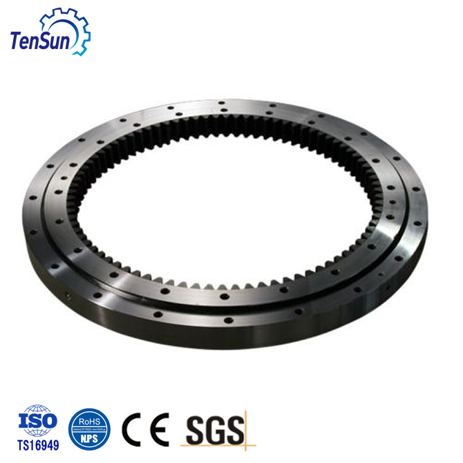 high quality slewing bearing with 4 four point contact ball bearings for sale