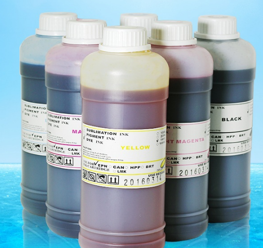 500ml  sublimation ink for cotton fabric