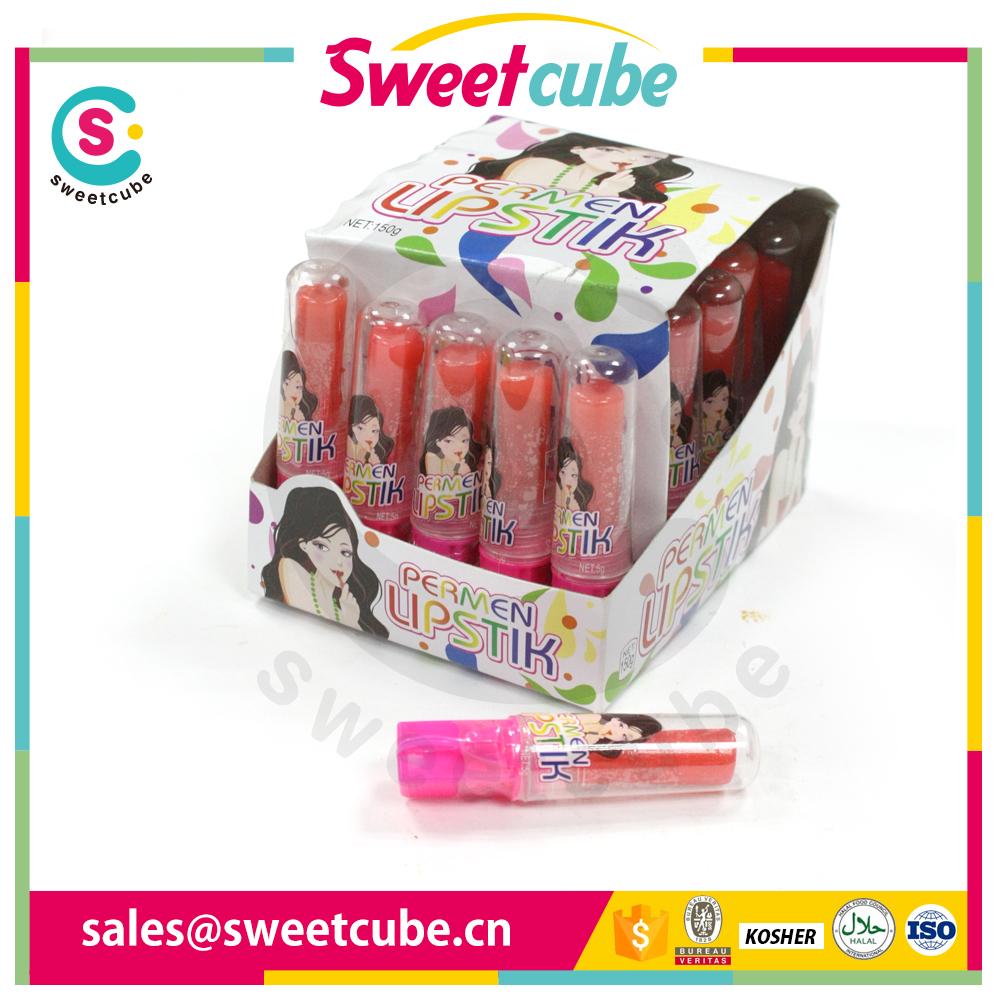 OEM crazy lipstick roll ball spray liquid candy