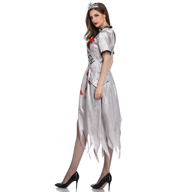 Gothic Vampire Zombie Bride Costume for sale