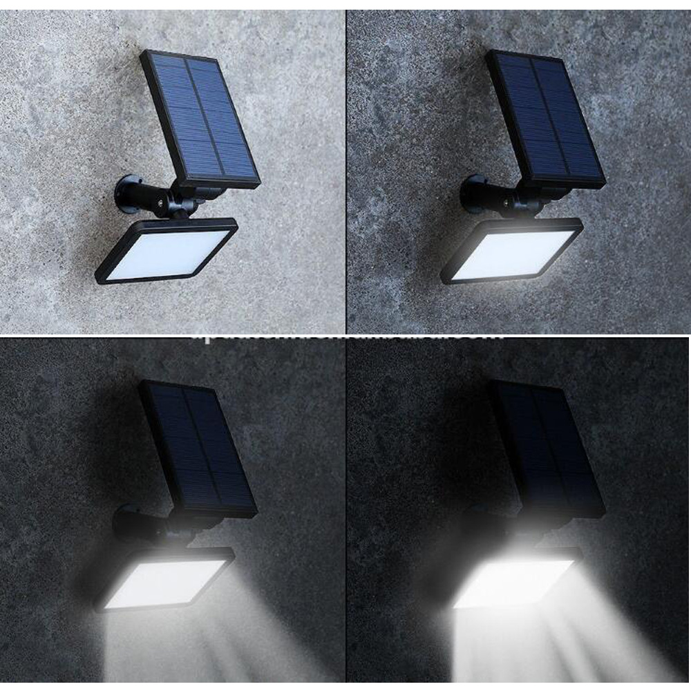 48 SMD leds outdoor wall mounted solar garden lights sale