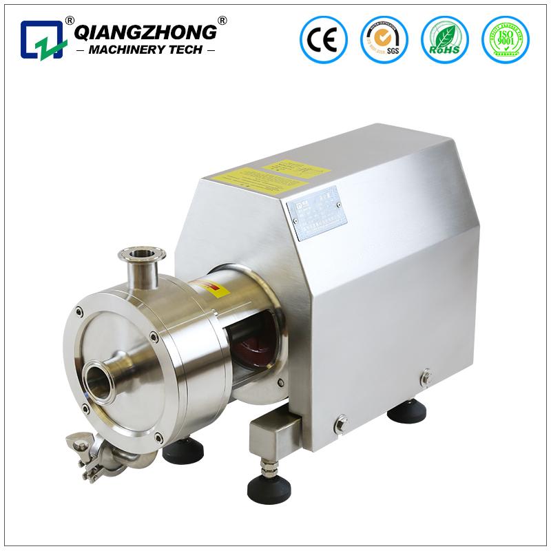 SRH1-80 Sanitary homogenizer blending pump stainless steel high shear emulsifier pump hot sale