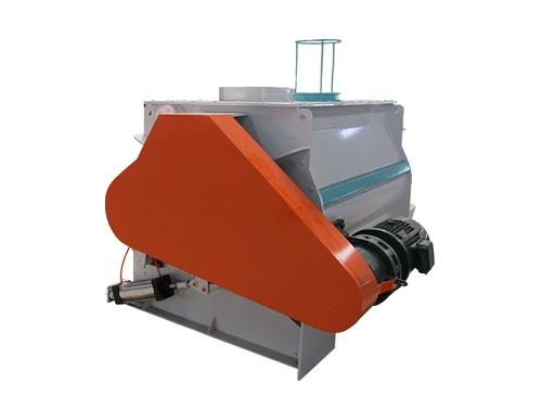 High efficiency double shaft Mixer