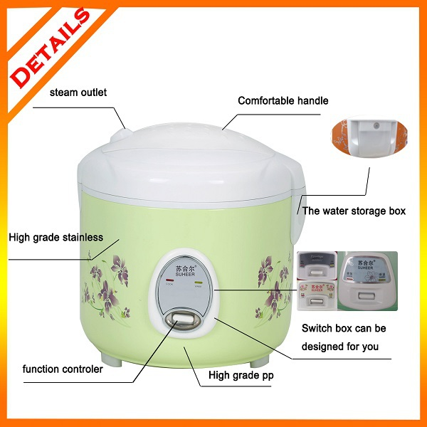 1.8L full body electric wholesale Dubai rice cooker with factory price oem service