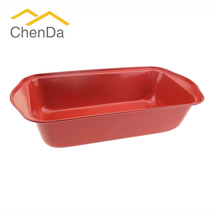 Carbon Steel Bakeware High Temperature Loaf Pan with Non Stick Coating CD-F1005 for sale