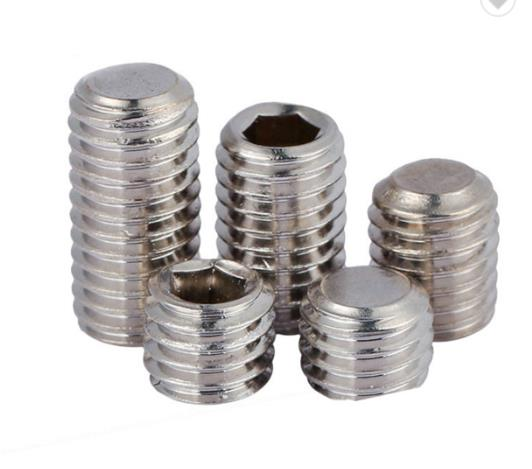 Hardware Fasteners Stainless Steel Hex Socket Set Screw high precision Screw sale
