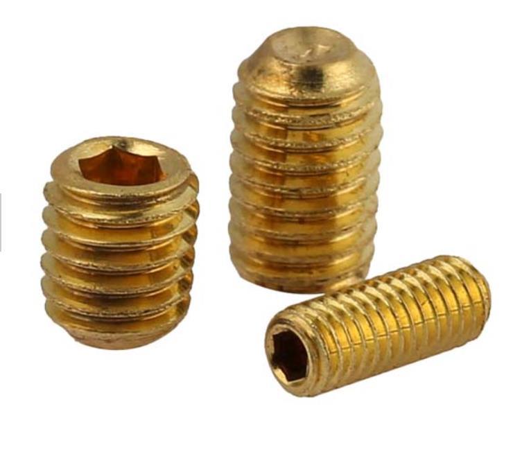 Hardware Fasteners Brass Set Screw Grub Screw sale