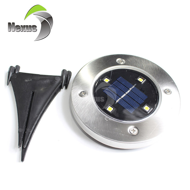 High quality waterproof IP65 outdoor solar panel adjustable 2w 3w 4w solar led garden light
