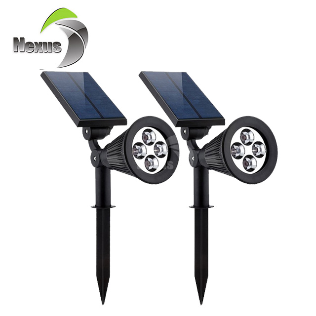 New Product High Brightness Outdoor IP65 2w led Solar Garden Light