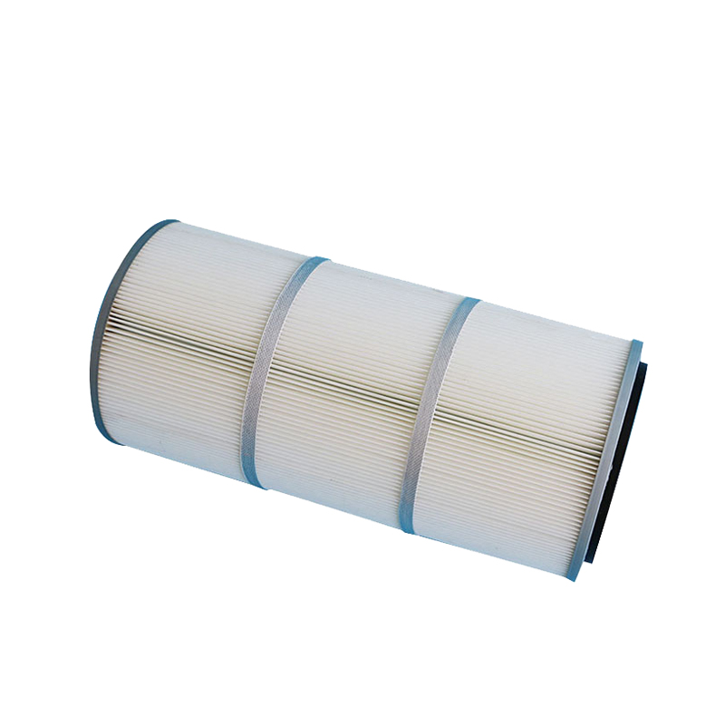 Pleated pulse jet activated carbon air filter cartridge sale