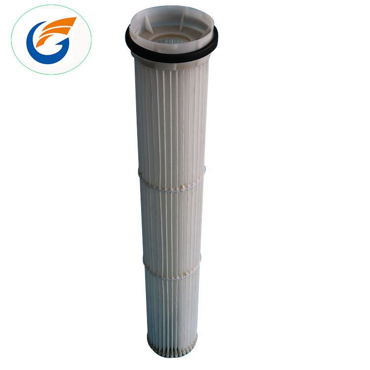 Quality air pleated filter cartridge for pulse jet dust collector sale