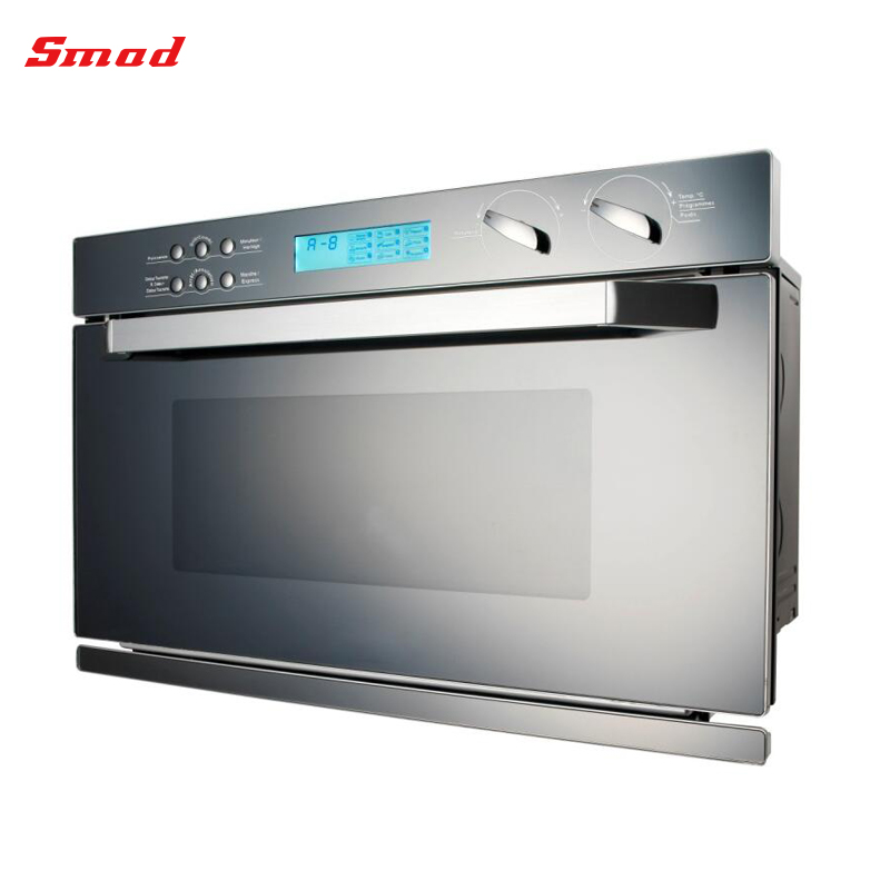 CBD349YDU-SARB0G Kitchen Use Built in Mirror Glass Door Microwave Oven With Grill