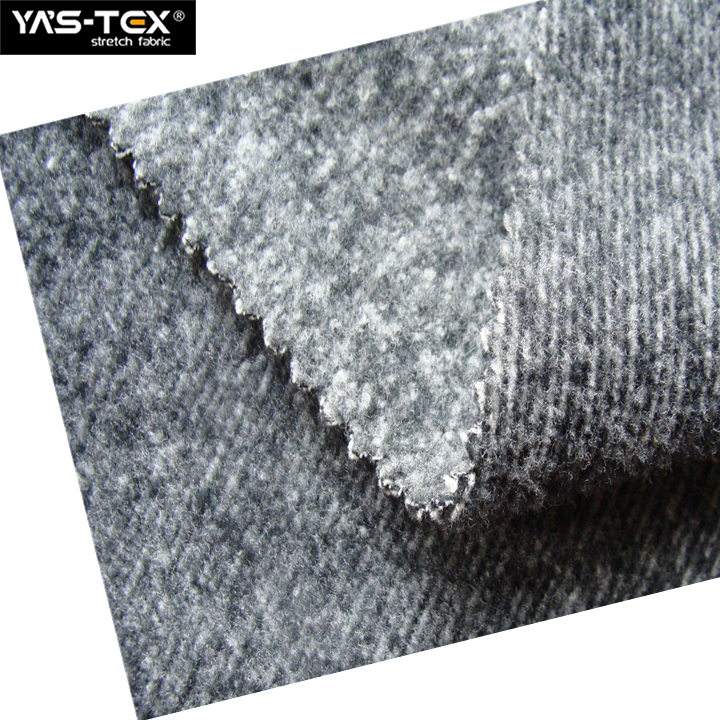 X4036 Waterproof Softshell Bamboo Fiber Fabric Polyester Brushed Fabric