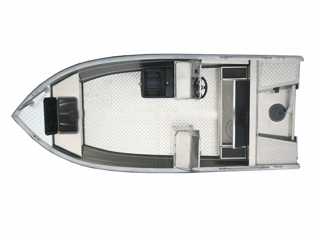 Explorer 460D 4.60M 15ft CE double console fishing aluminum boat