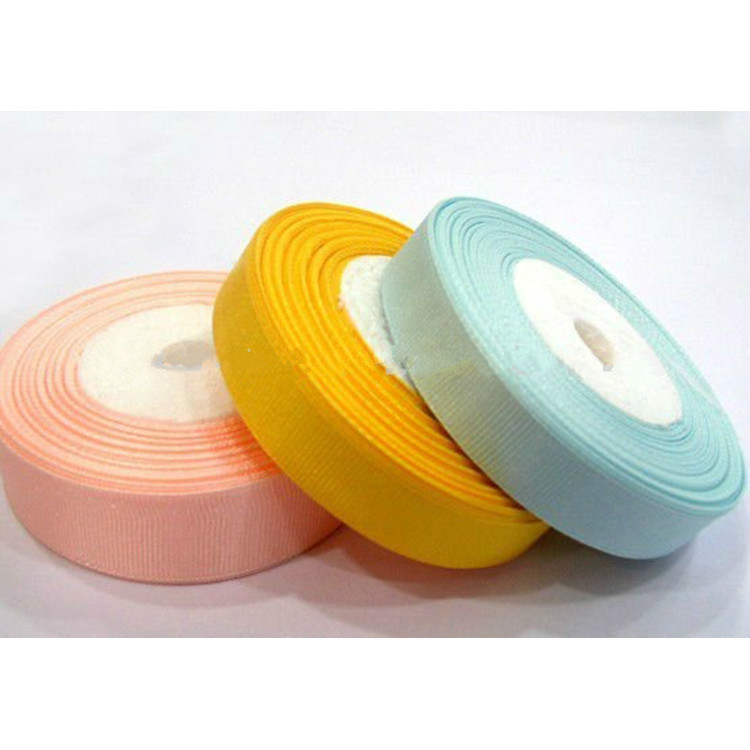 S010 nylon polyester colorful elastic reversible Satin Ribbon