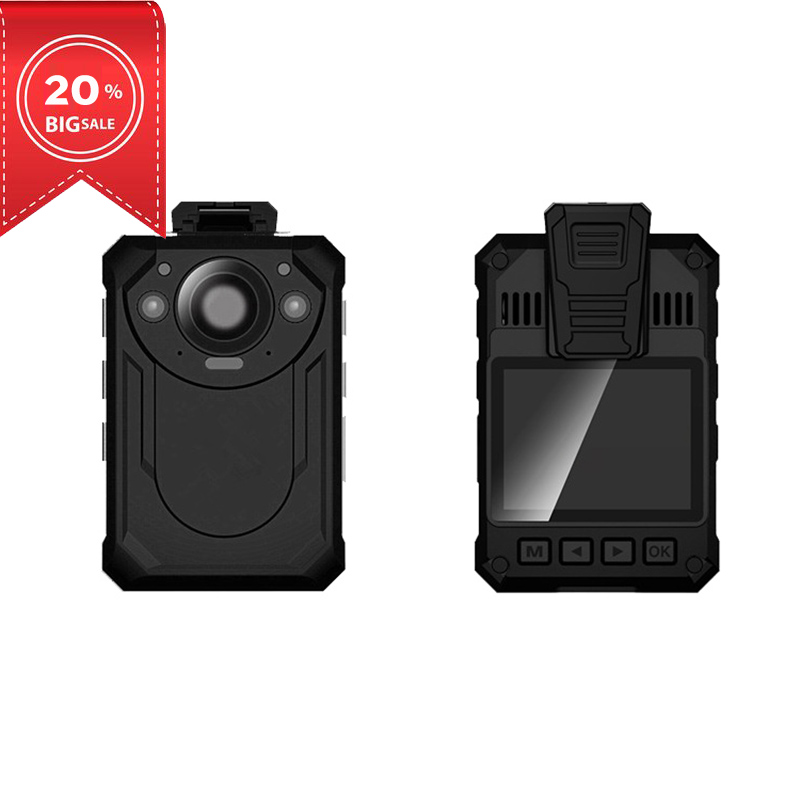body cam High quality waterproof full hd police camera body worn camera with 2.0 inch color display