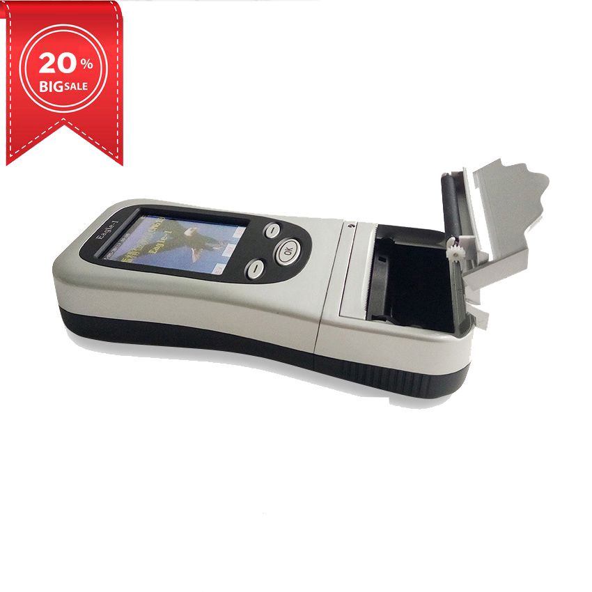 Portable Digital Eagle-1 Hand-held Breath Alcohol Analyzer with Built-in Printer for Roadway Safety