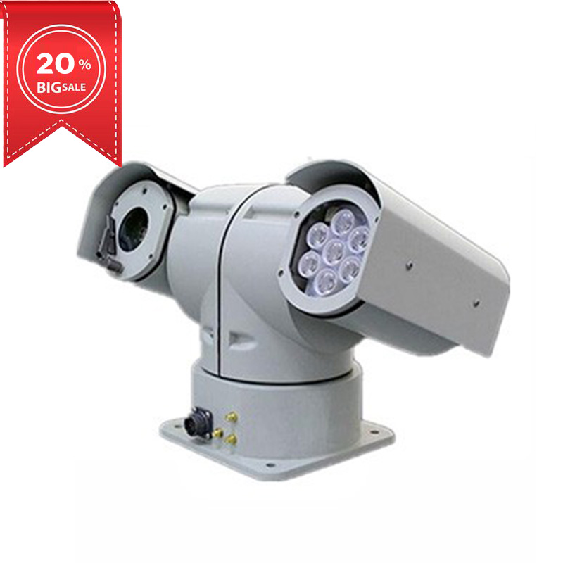 Vehicle Mounted Ptz IP 360 Degrees Rotation Camera For Buses And Cars Security