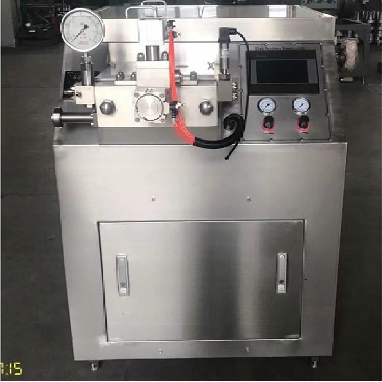 Penumatic Small homogenizer for making milk ice cream sale