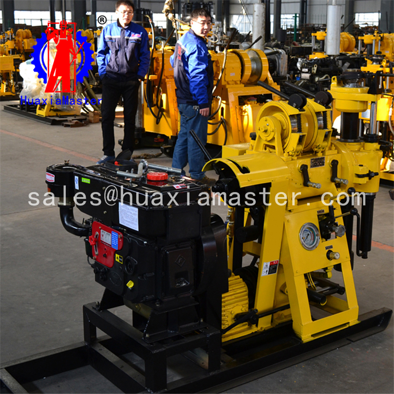 HZ-130Y Hydraulic core Drilling Rig rock drill for exporting to sale