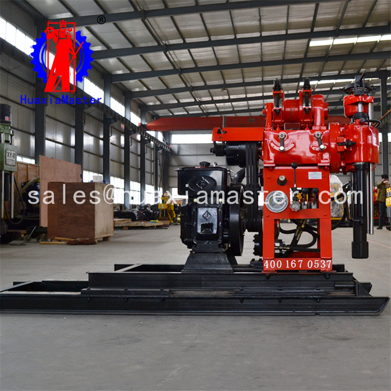 Small portable full hydraulic water well drilling rig drilling rig / portable digging machines / borehole drilling machine