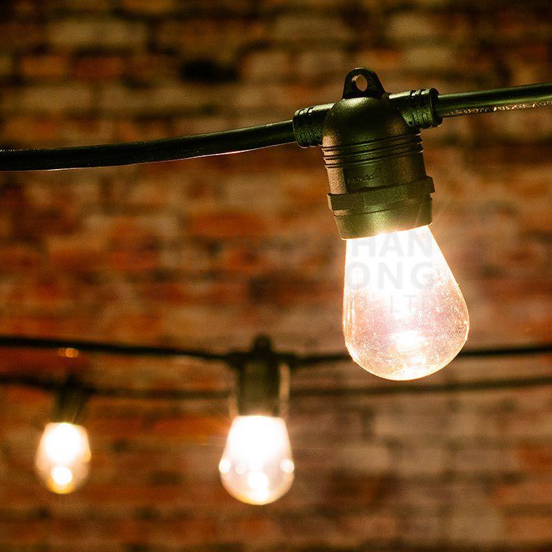 10 socket Outdoor Commercial String Light
