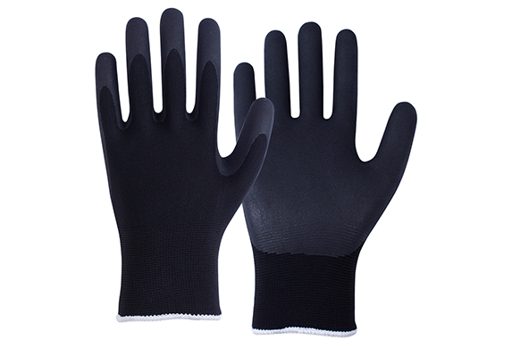Nitrile Coated Safety Work Gloves/NCG-040