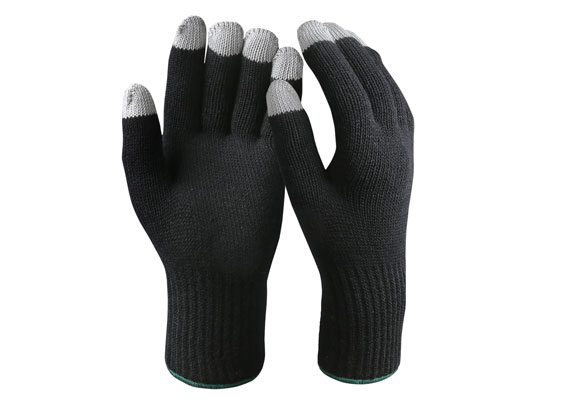 Double Ply Touch Screen Safety Work Gloves/TSG-04
