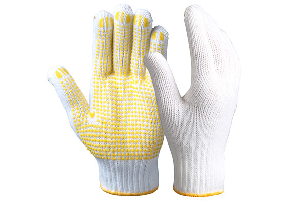 String Knit Safety Work Gloves/SKG-03