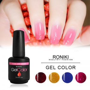 RONIKI Cherry Series Color Gel,Gel Polish,Uv Gel Polish,Low Price Gel Polish,Uv Fur Effect Gel Polish,Xmas Color Gel