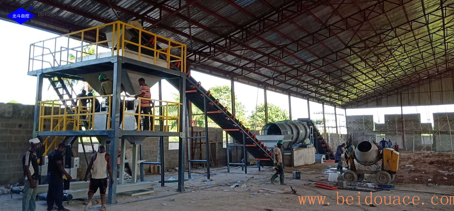 NPK granular fertilizer machine for fertilizer manufacturer