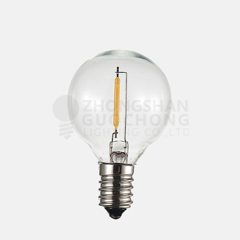 ED 1 filament bulb    vintage edison light bulb