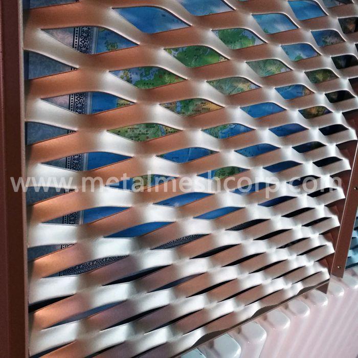 Aluminum Expanded Metal Mesh Facade